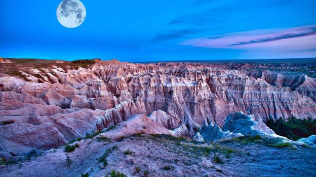 Les paysages lunaires des États-Unis