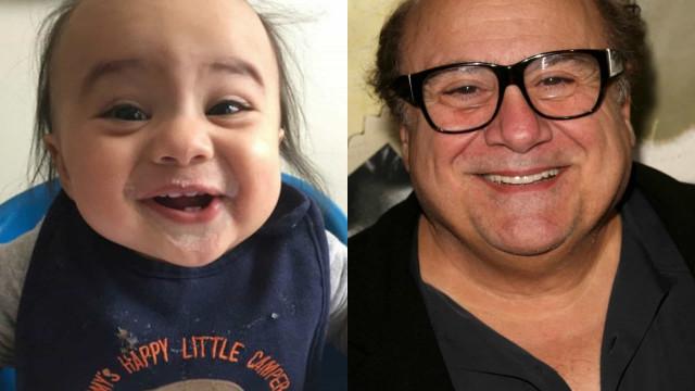 Diese Babys haben Doppelgänger in Hollywood