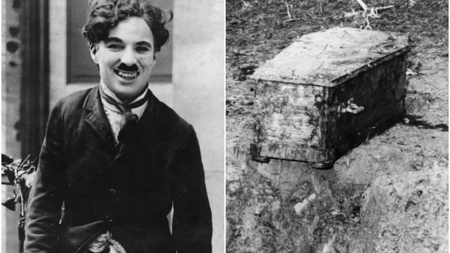 Det bisarra fallet med Chaplins kidnappade lik