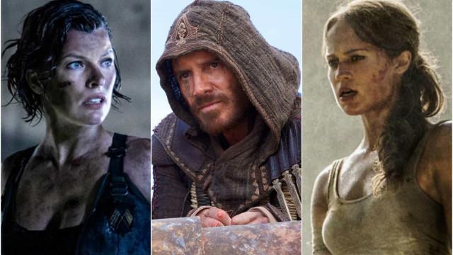 Games que inspiraram filmes; veja êxitos e fracassos