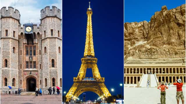 Tourist sites where it's strictly forbidden to take photos