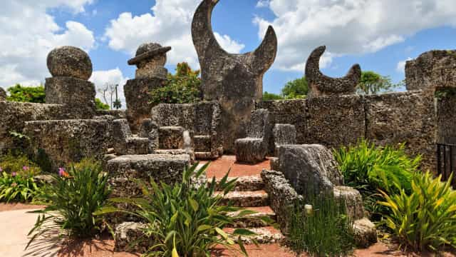 The fascinating tale behind the mysterious Coral Castle
