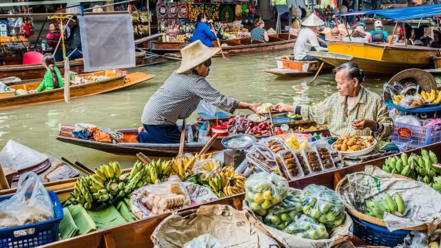 Die schwimmenden Märkte Asiens