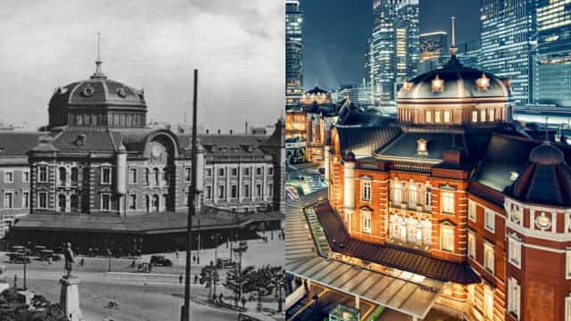 The world's cities: then and now