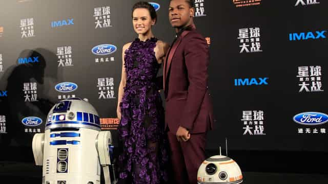 British stars of 'Star Wars' past and present