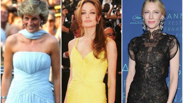 Inspiroivat asut Cannesin elokuvajuhlilta vuosien varrelta