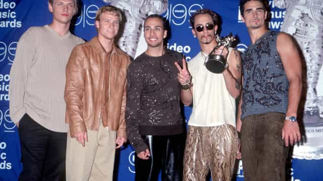 Backstreet Boys: Then and now