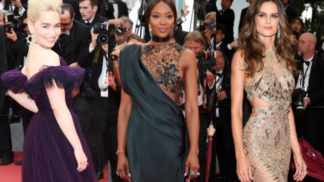 Utrolige looks på den røde løber ved filmfestivalen i Cannes