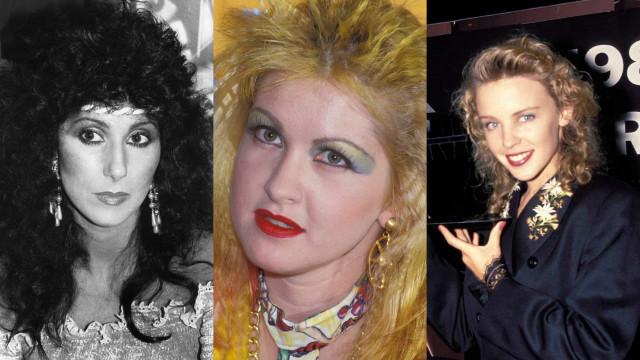 Femmes des années 1980: avant, après