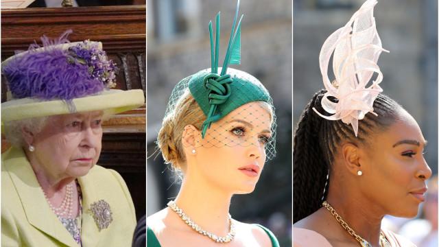 Hattar och hårprydnader från prins Harrys och Meghans bröllop