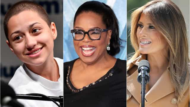 The 30 most-influential women of 2018