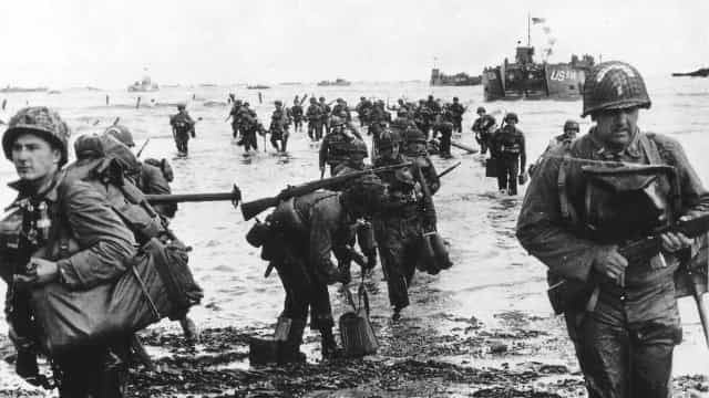 Incredible historic images of D-Day