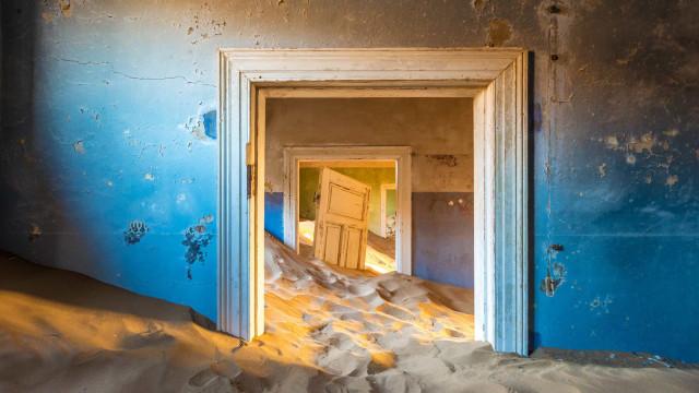 Kolmanskop, el pueblo fantasma enterrado en la arena