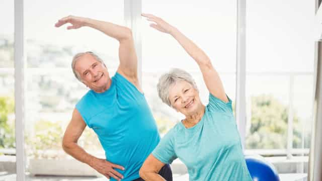 Sådan holder du dig sund og i god form som midaldrende