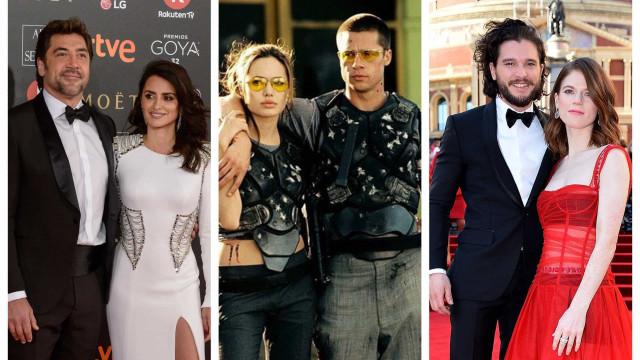 Os atores que se apaixonaram durante as gravações