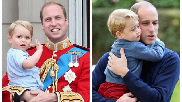 Prince William and George's sweetest father and son moments