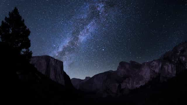 ¿Cuadros o fotografías? La Vía Láctea en todo su esplendor