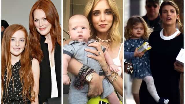 Da Elisabetta Canalis ad Asia Argento: le mamme e le loro baby star