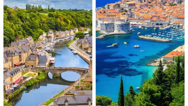 France vs. Croatie: les splendides paysages des nations en finale