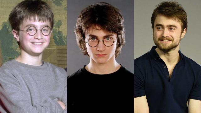 Así ha crecido Daniel Radcliffe
