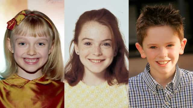 Då och nu: Hollywoods kändaste barnskådisar