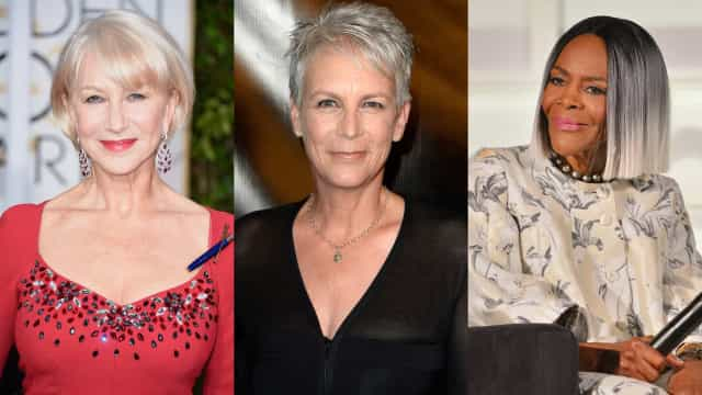 Female silver foxes: stunning celebs who rock gray hair