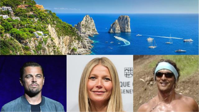 Di Caprio, McConaughey e la Paltrow in vacanza a Capri... e le altre star?