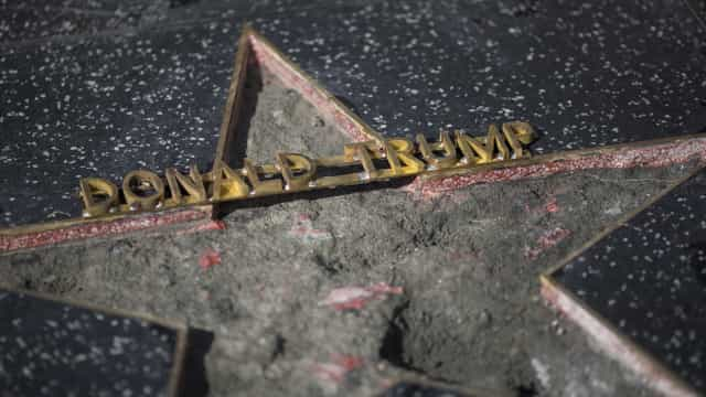 Donald Trump's Hollywood Walk of Fame star may be permanently removed
