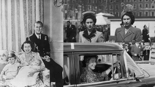 Fascinerende bilder av den unge dronning Elizabeth II