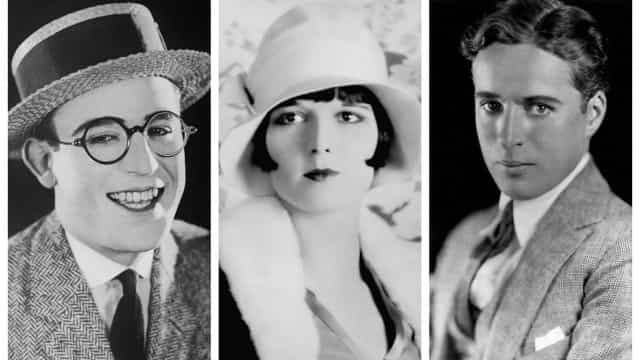 Superstars of the silent film era