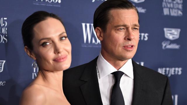 Brad Pitt e Angelina Jolie pedem para adiar processo de divórcio
