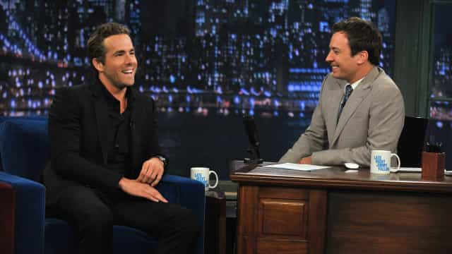 WATCH: Ryan Reynolds and Jimmy Fallon get disgustingly drunk
