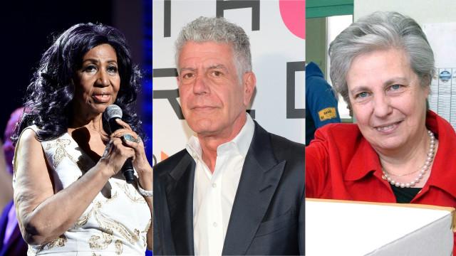 Addio ad Aretha Franklin e Rita Borsellino, ecco chi altri si è portato via il 2018