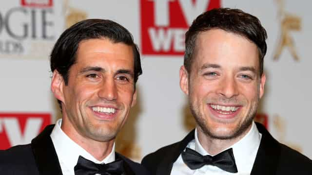 Funnyman Andy Lee doesn't let medical emergencies stop his interviews