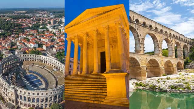 Discover amazing Roman sites and ruins from across the Empire