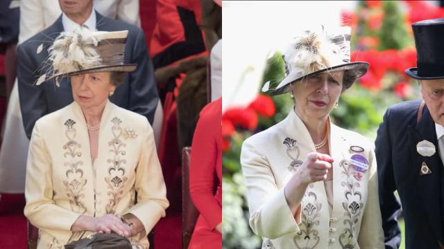 Kun kuninkaalliset pukeutuvat samaan asuun kahdesti