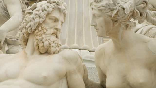 Greek mythology: the great Greek Gods and heroes