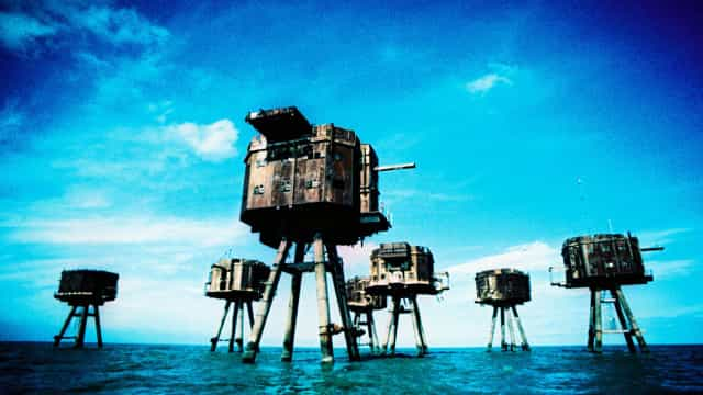 The bizarre history of Britain's abandoned sea forts