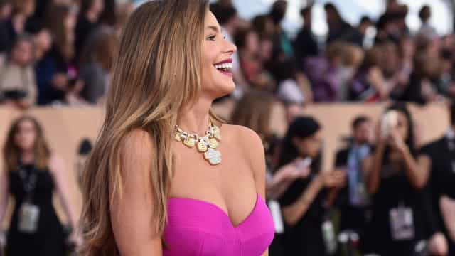 Sofia Vergara says her triple-D size breasts are 100% natural