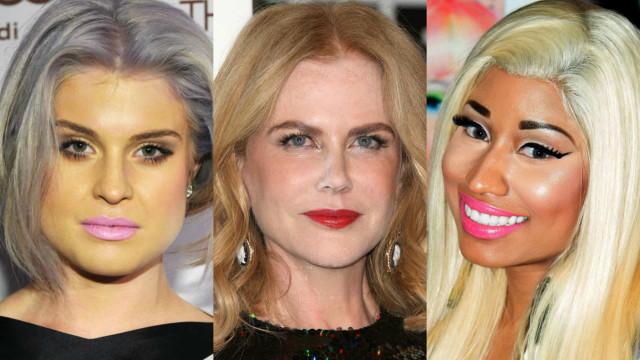 As falhas e os exageros na maquilhagem das famosas
