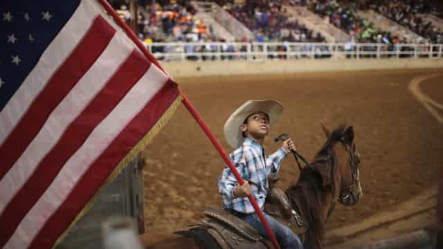 America's only traveling African-American rodeo is rewriting history