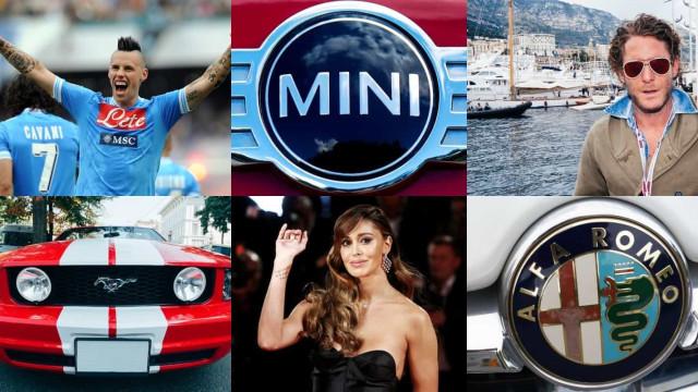 Supercar: che macchine guidano i nostri cari VIP italiani?