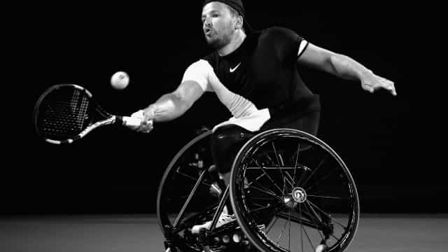 Aussie Dylan Alcott wins his second U.S. Open title