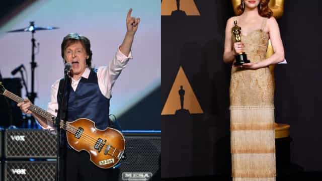 Paul McCartney recruited an Oscar-winning actress for his music video—Guess who!