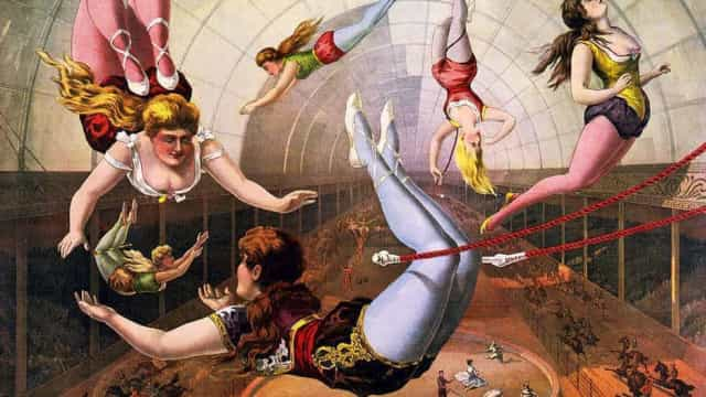 Come one, come all! Discover the evolution of the circus