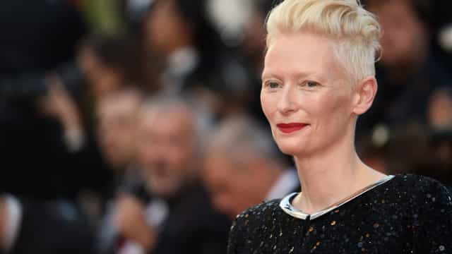Why does Tilda Swinton wear a prosthetic penis?