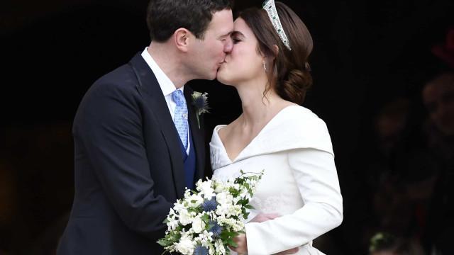 ¿Quién y cómo se ha presentado en la boda de la princesa Eugenie?