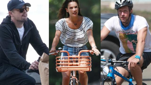 자전거를 타는 스타: 지구와 건강을 생각하는 셀레브리티들