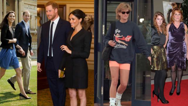 Las piernas de la realeza: Meghan no es la única que usa minifalda