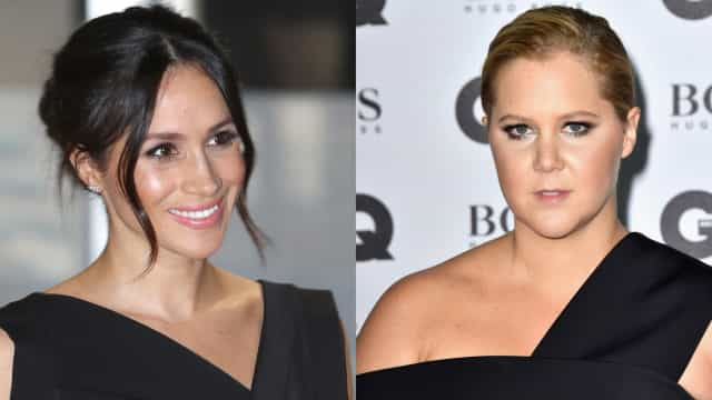 What do Meghan Markle and Amy Schumer have in common?